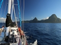 Leaving St Lucia